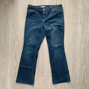 Kut From the Kloth Farrah Baby Bootcut Jeans 16